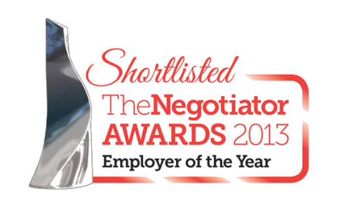 The Negotiator Awards 2013 Employer of The Year