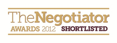 The Negotiator Awards 2012 Shortlisted